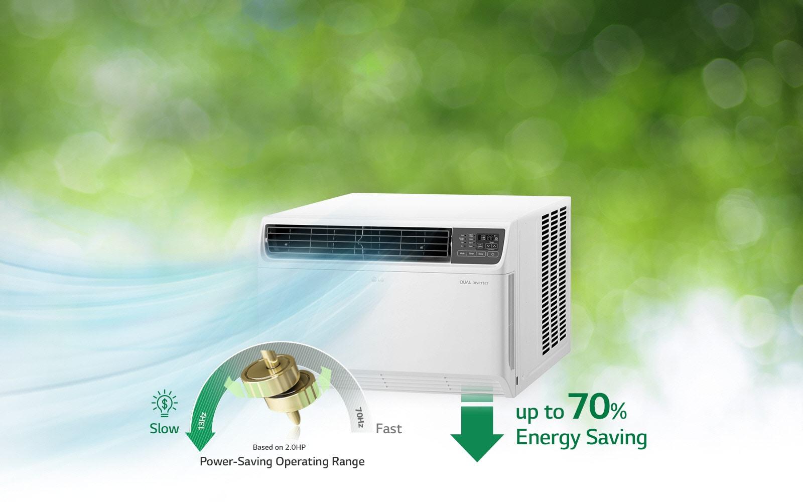LG  75 HP, Dual Inverter Compressor, 70% Energy Saving, Anti