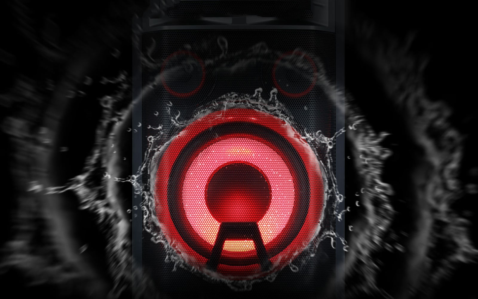 LG 1000 Watts RMS, Blast Horn, Pro DJ Wheel, Vocal Effects