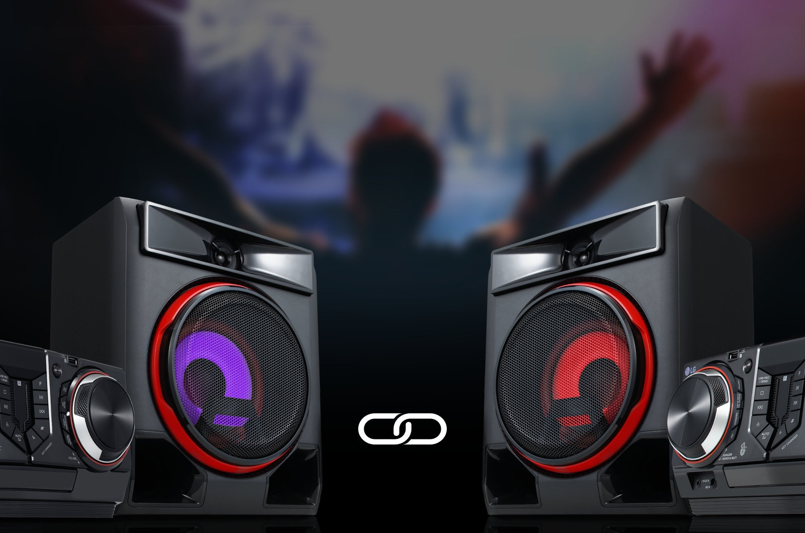 Double the Sound with Wireless Party Link1