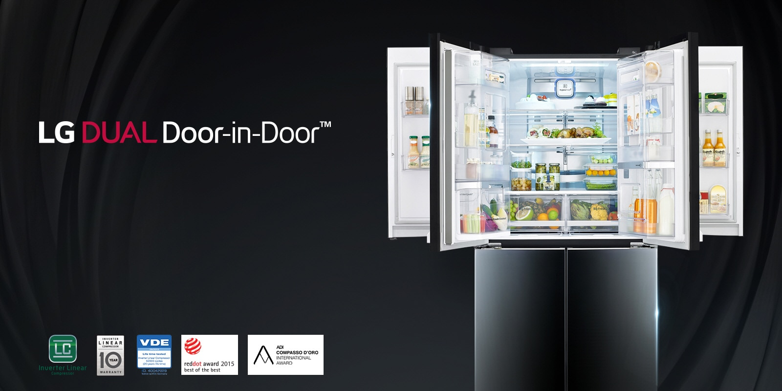 Lg Refrigerators Single Door Side By Side Amp More Lg