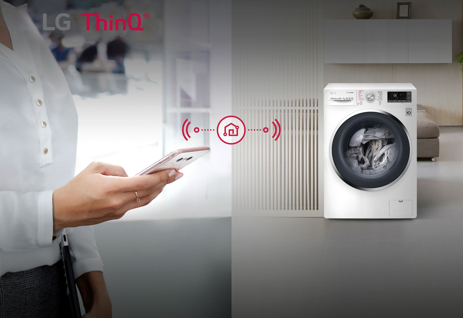 Smart Convenience with SmartThinQ™<br>1