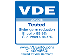 Tested by VDE