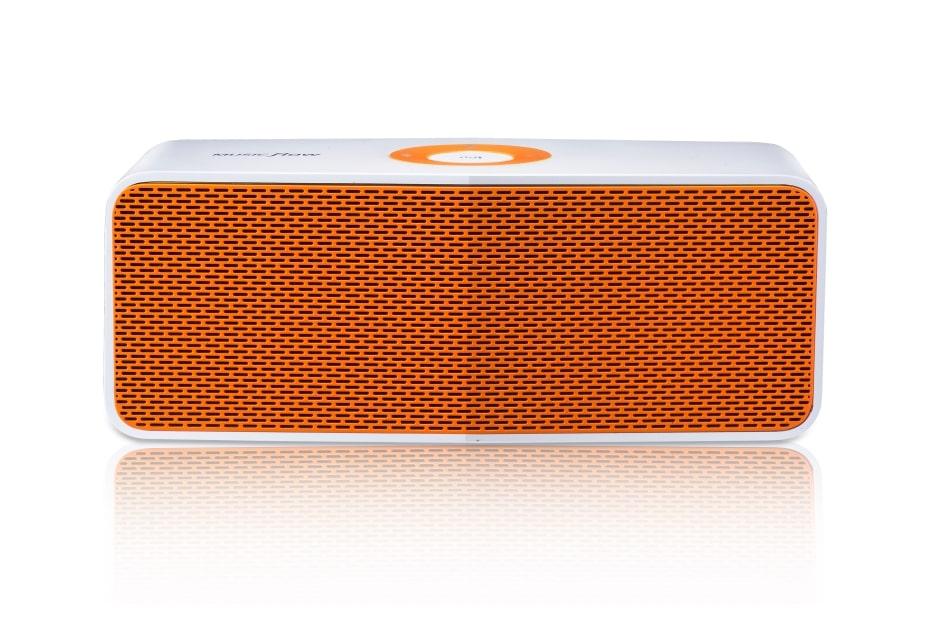LG MUSIC flow P5 Portable Bluetooth Speaker - White Orange