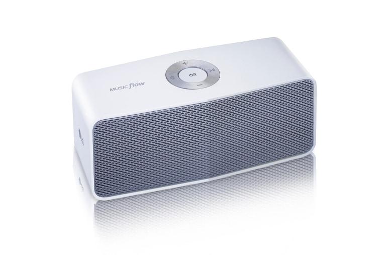 LG MUSIC flow P5 Portable Bluetooth Speaker - White | LG