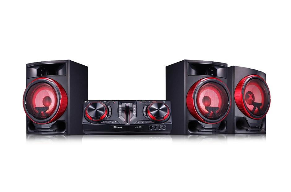LG 2 1 ch, 2900W RMS, FM, TV Sound Sync, Wireless Party Link