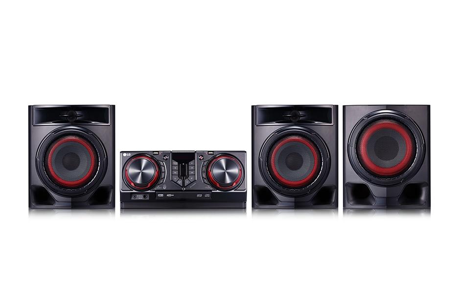 LG 720 watts RMS, Voice Canceller & Key Changer, Auto DJ