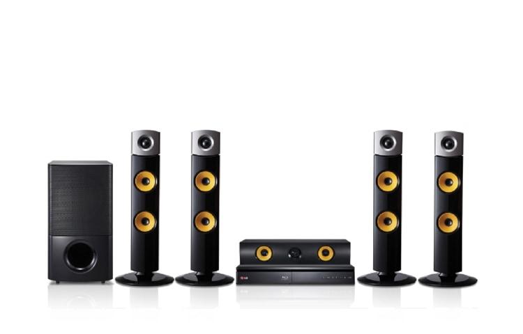 LG 1000 watts RMS, 3D Blu-ray HTS, Aramid Fiber Cone Speaker, LG