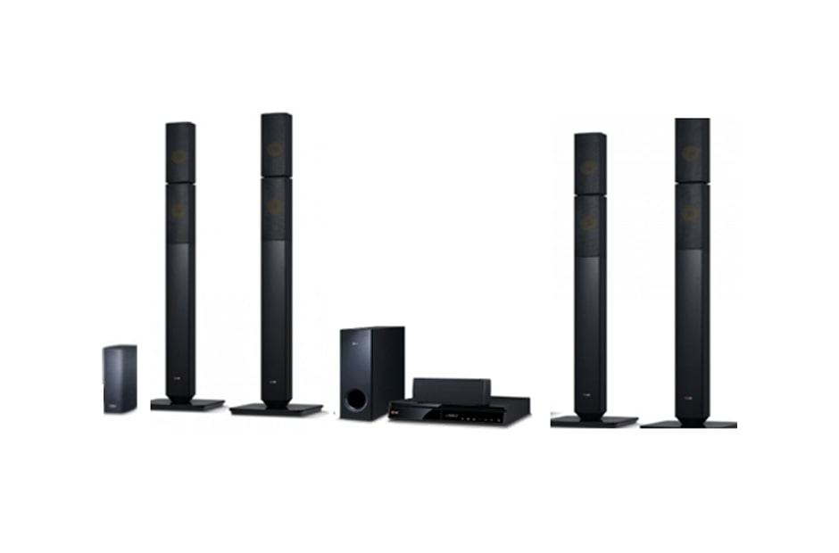 LG Home Theater Systems LHB655NW 1