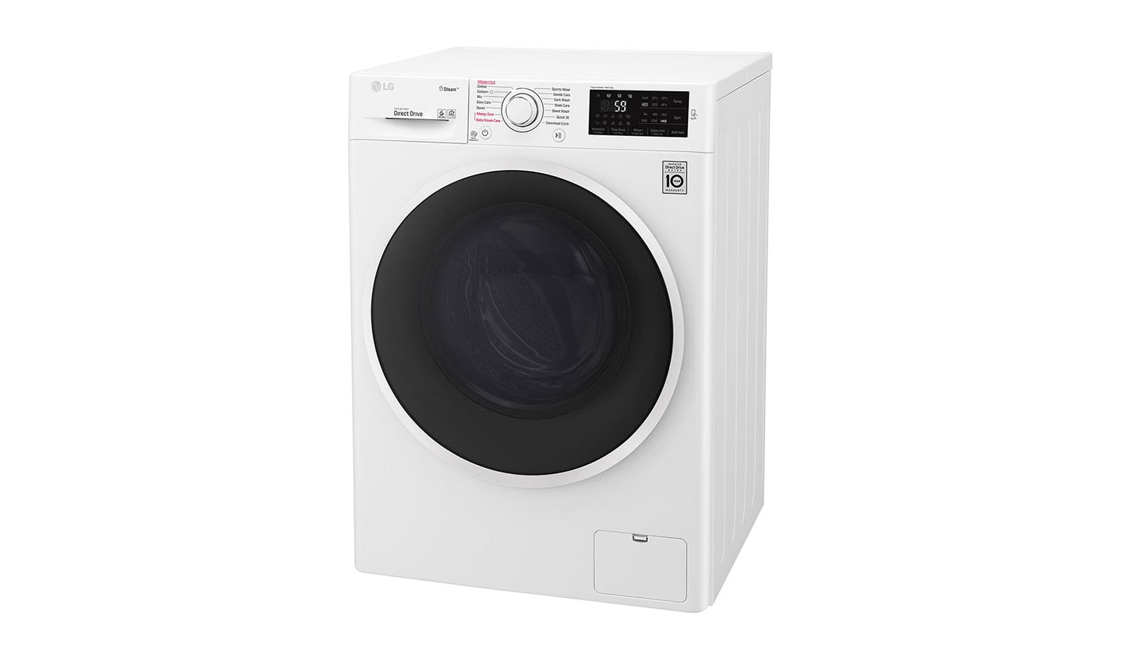 LG Smart ThinQ™ Front Load Smart Inverter Washing Machine | LG ...