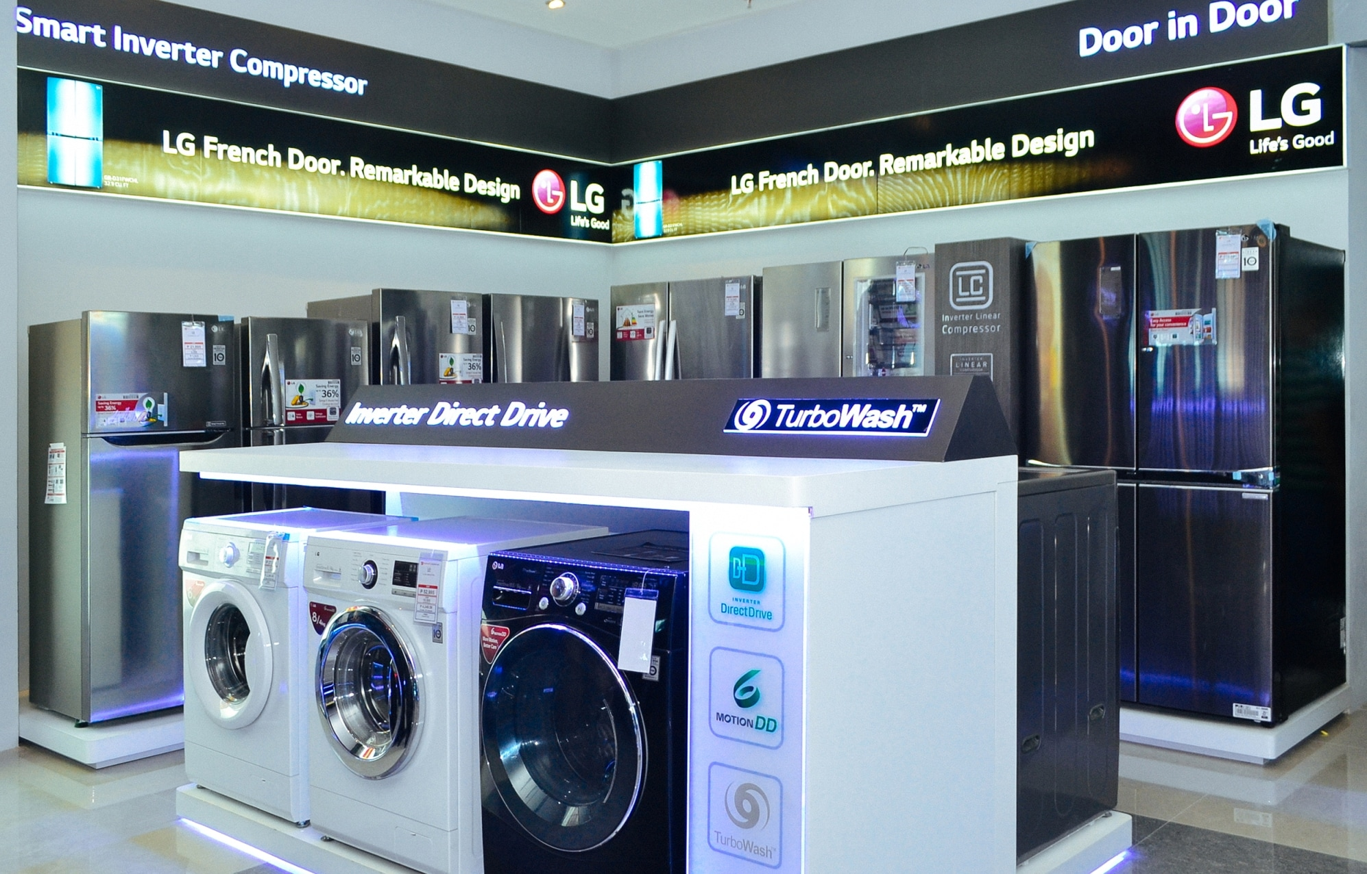 Lg Electronics Launches New Concept Store In Robinson S