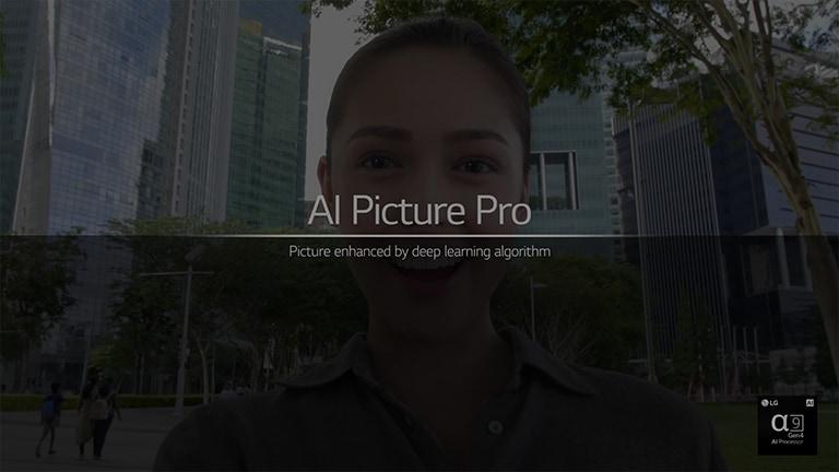 """To jest film o funkcji AI Picture Pro. Kliknij przycisk """"Obejrzyj cały film"""", aby go odtworzyć. Film w języku angielskim."""