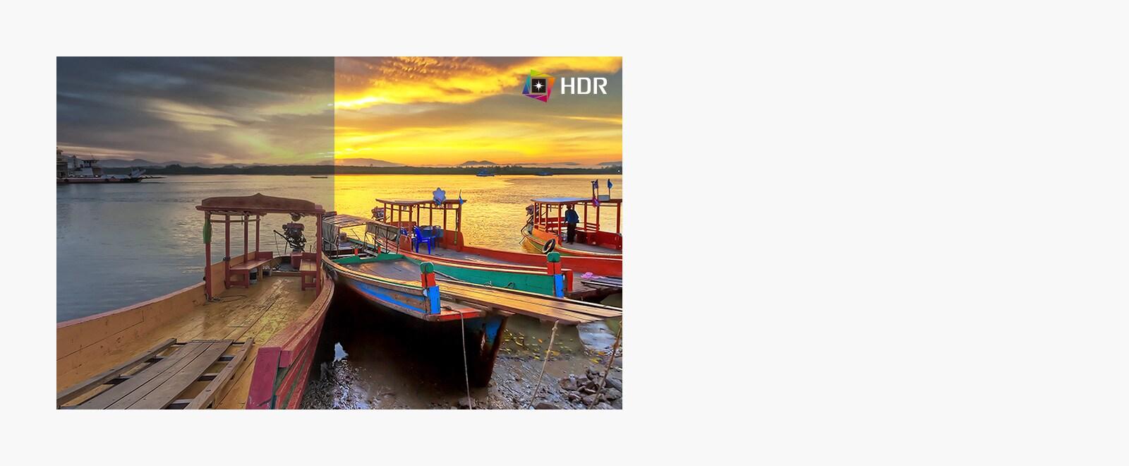 Technologia HDR zapewnia znacznie lepsze odwzorowanie barw niż SDR