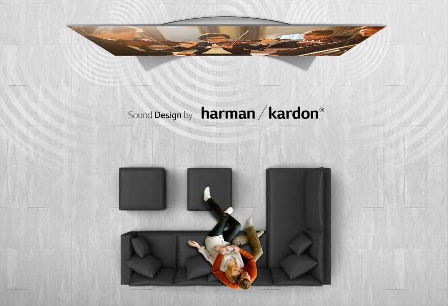 Sound system designed by harman / kardon®