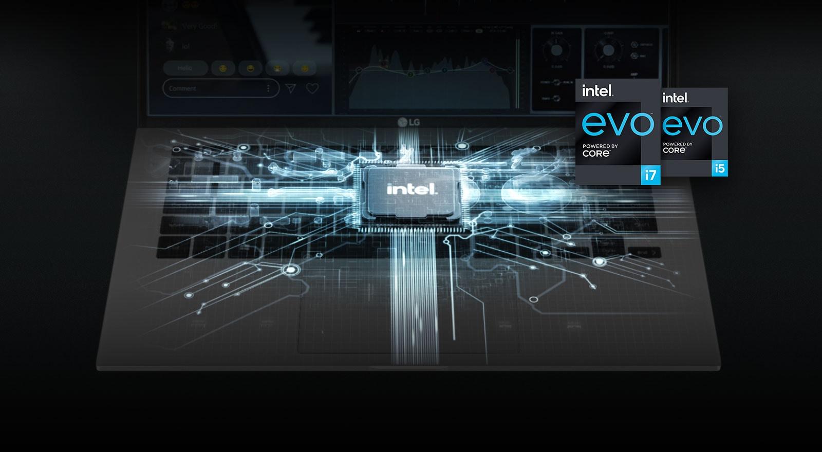 Najnowszy procesor Intel® 11. generacji i pamięć systemowa zapewniają wysoką wydajność