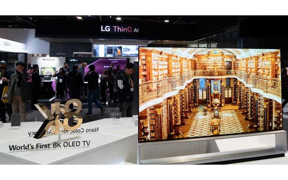 The World's first 8K OLED TV was on show at CES 2019, all thanks to LG | More at LG MAGAZINE