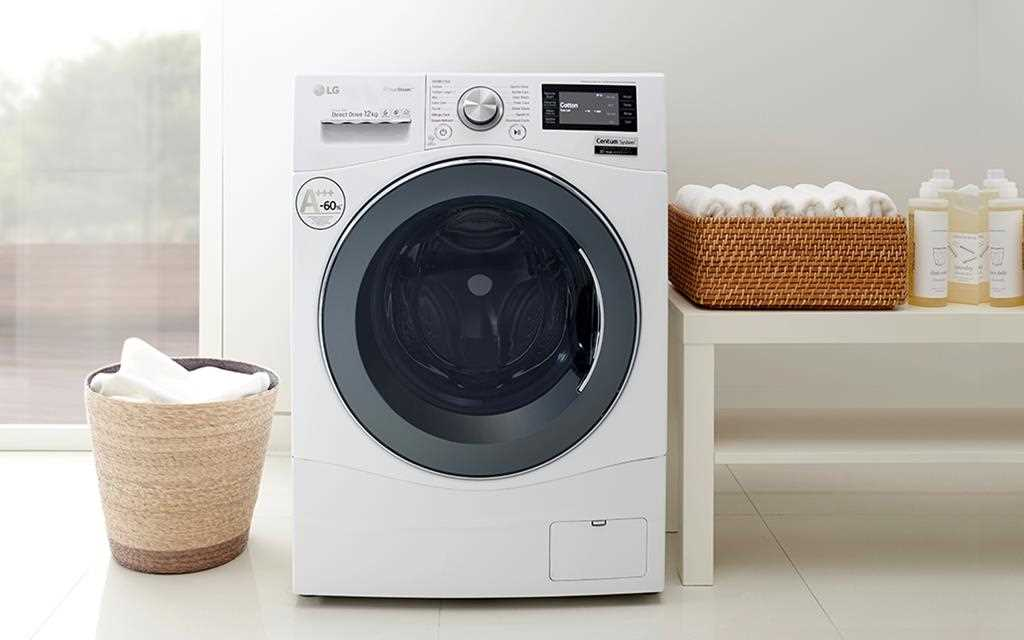 LG Washing Machines aren't just functional; they look great in any laundry room setting | More at LG MAGAZINE