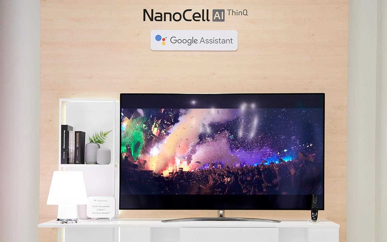 The LG NanoCell AI ThinQ TV was displayed at IFA 2019, with lots of great features so your TV can do more for you | More at LG MAGAZINE