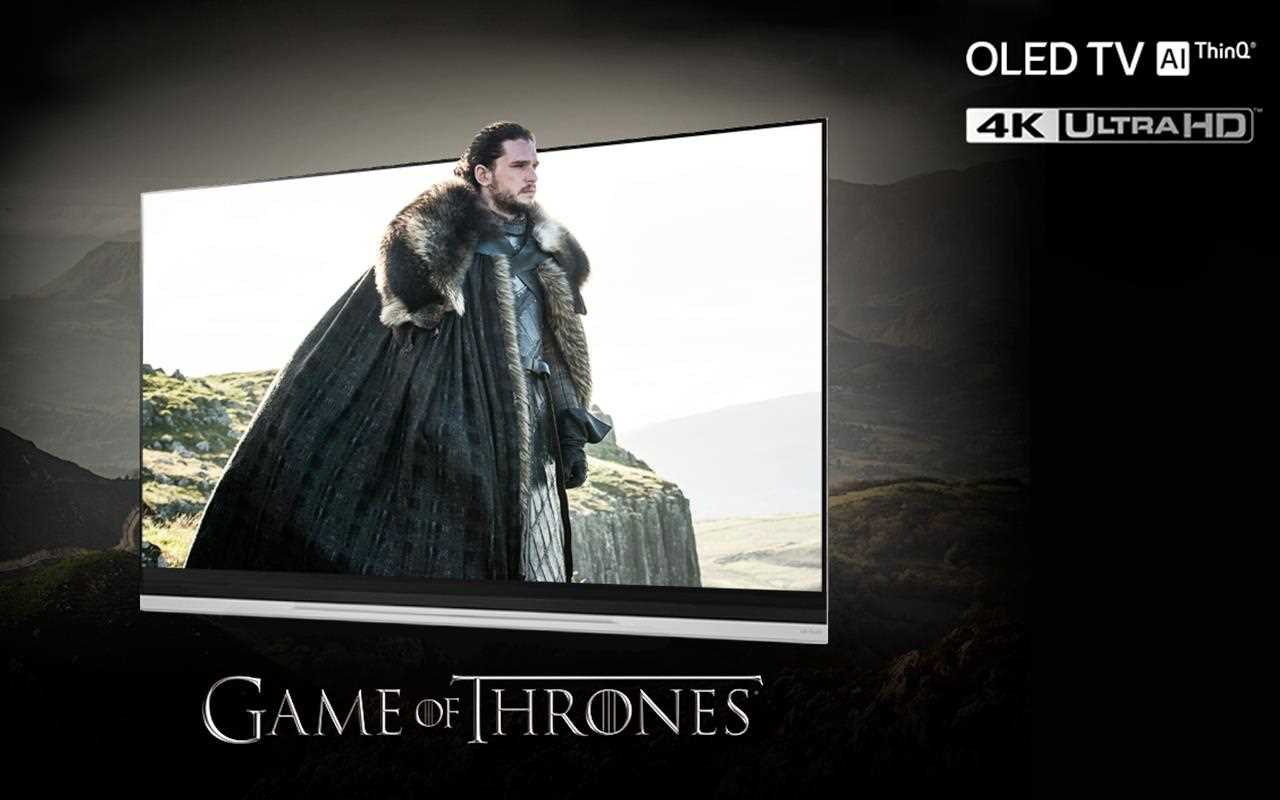Game of Thrones is an amazing viewing experience, but it gets even better on an LG Smart TV, with OLED and 4K picture quality so you feel like you're actually there | More at LG MAGAZINE