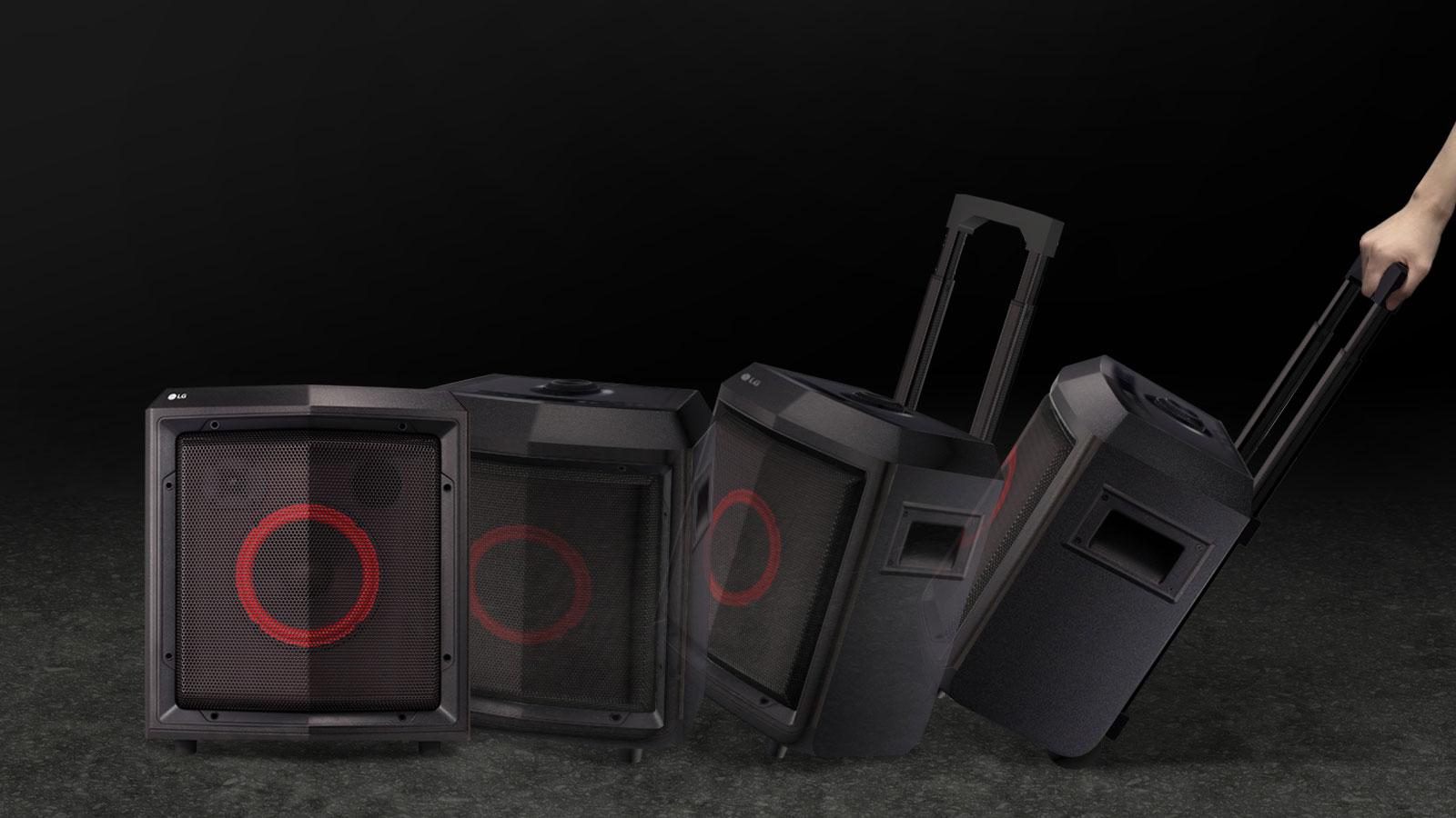 """Grab & Pull"" - Haut-parleur portable | Chariot"