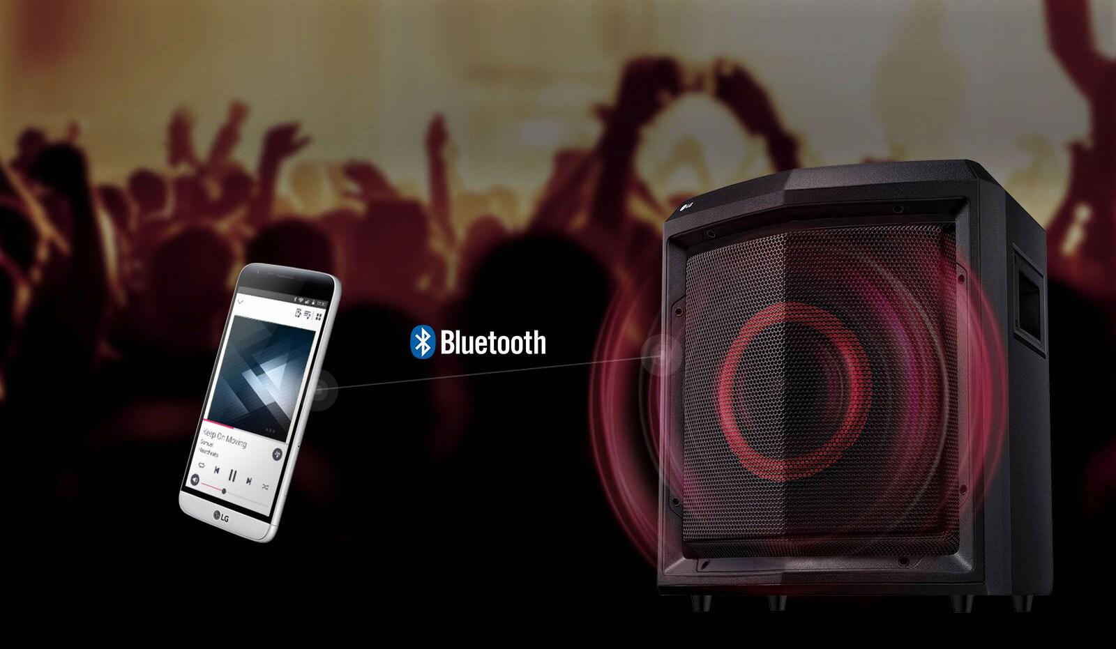 Transmission audio Bluetooth