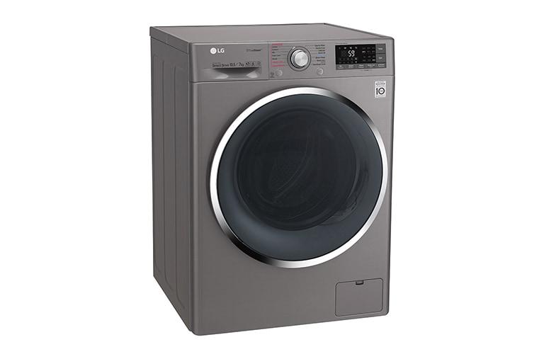 0fe893be2 LG Máquina de Lavar e Secar Roupa 10.5Kg 7Kg EcoHybrid