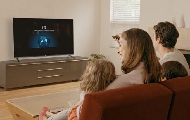 Fun Setup - Start your TV in a fun way
