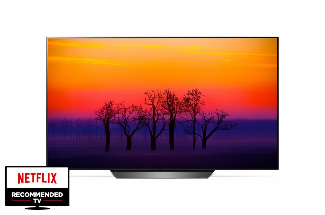 lg oled tv od 65 165 cm sa 4k bioskopskim hdr om operativnim sistemom webos 4 0 i sistemom. Black Bedroom Furniture Sets. Home Design Ideas