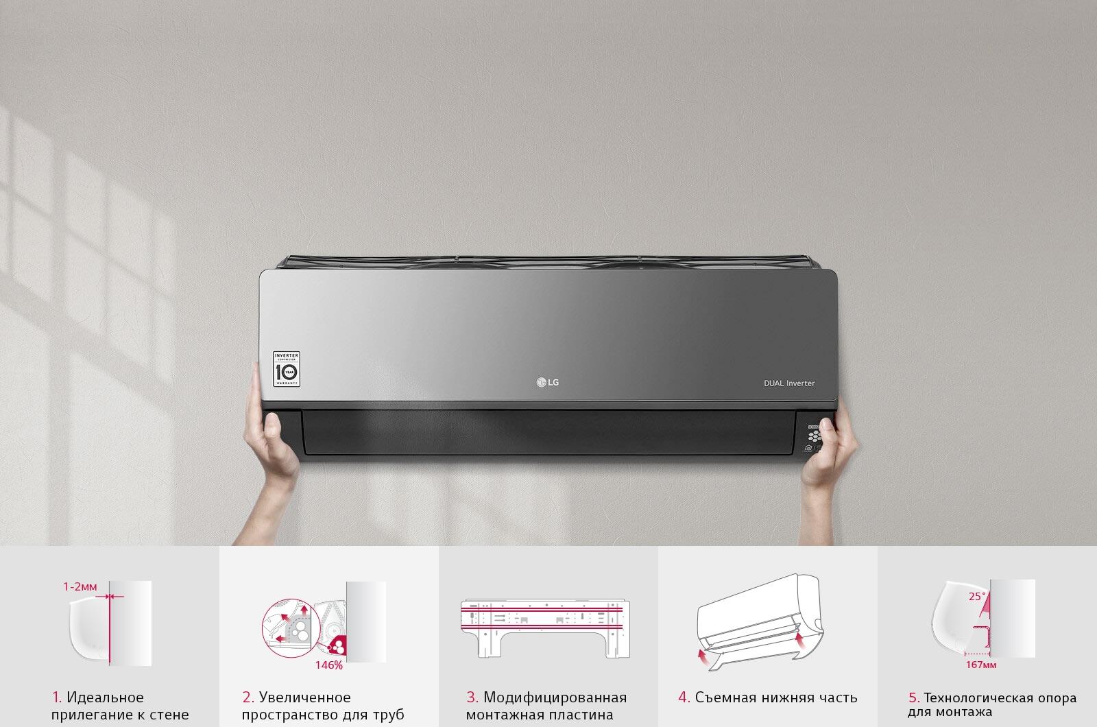 LG Простая и быстрая установка