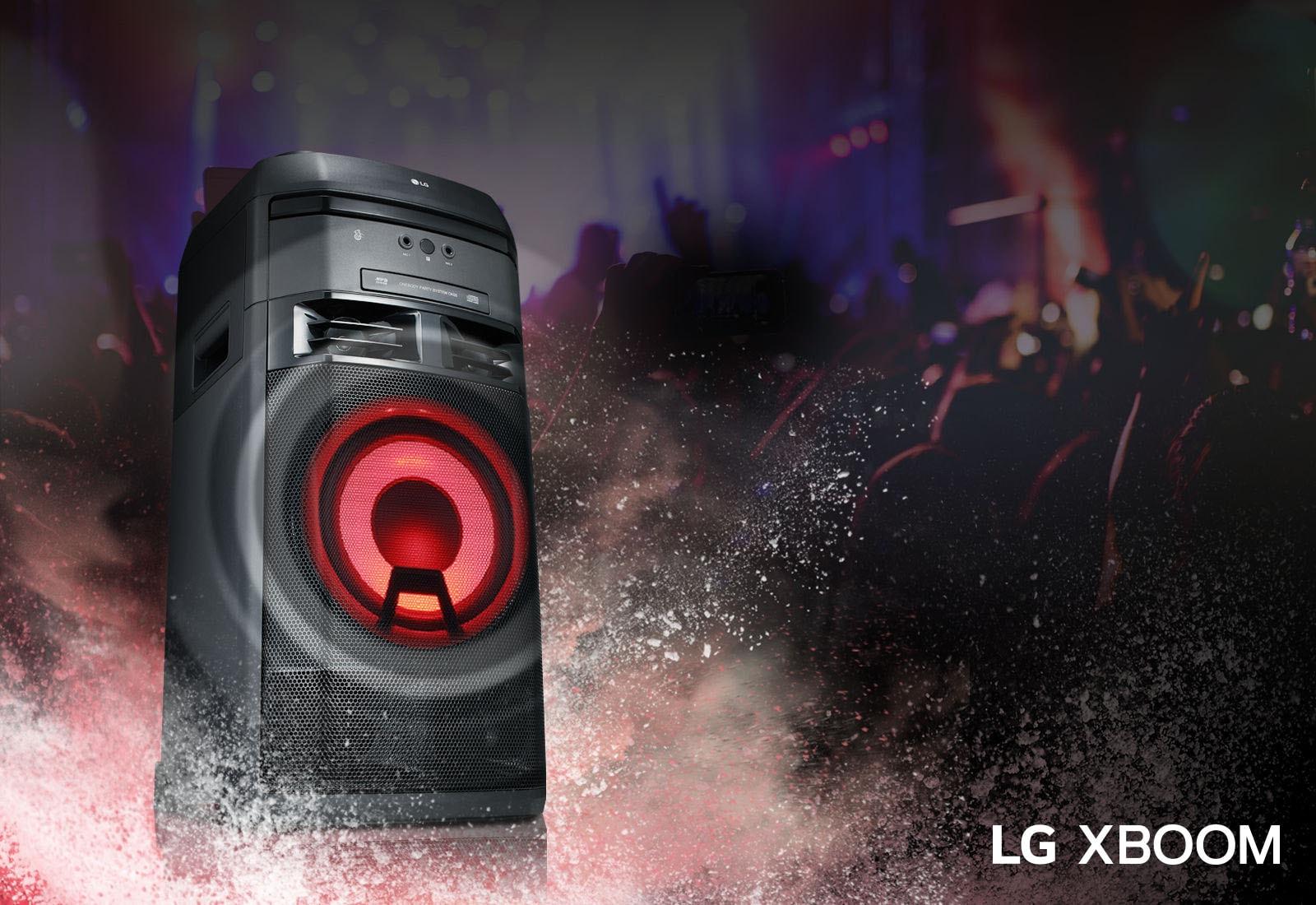 LG XBOOM OK65 Более объемное звучание