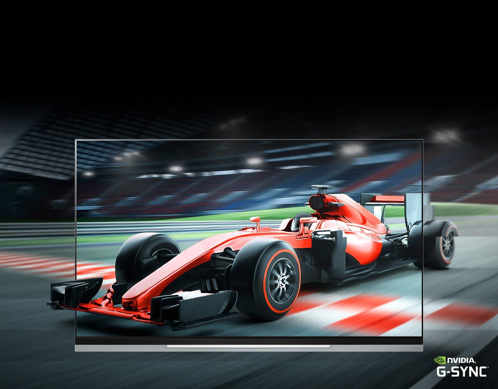 Совместимость с G-Sync® для игр на большом экране