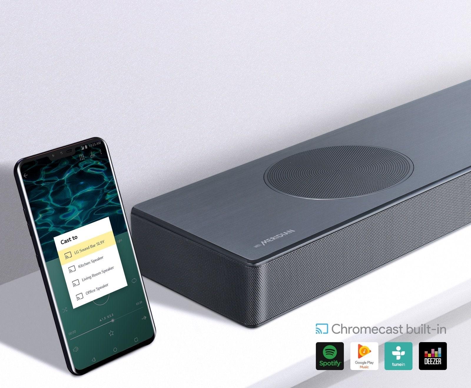 Встроенный Chromecast