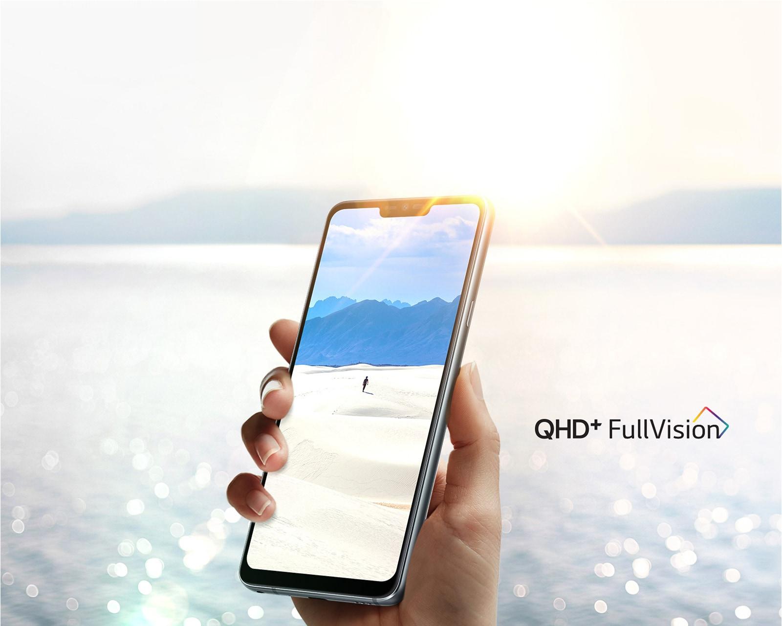 Смартфон LG G7 ThinQ Сверхъяркий дисплей