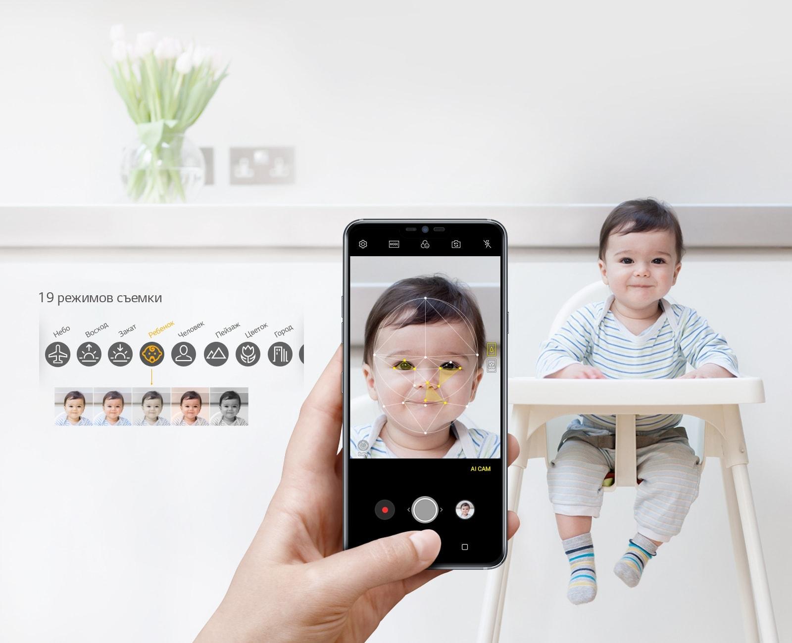 LG G7 ThinQ - интеллектуальная камера