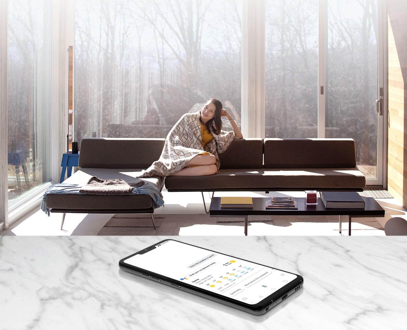 LG G7 ThinQ Распознавание речи на увеличенном расстоянии