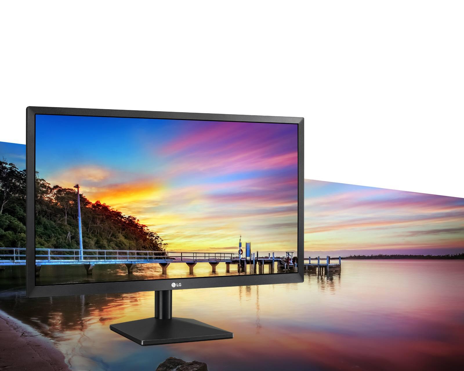 LG 22MK400H Качество Full HD