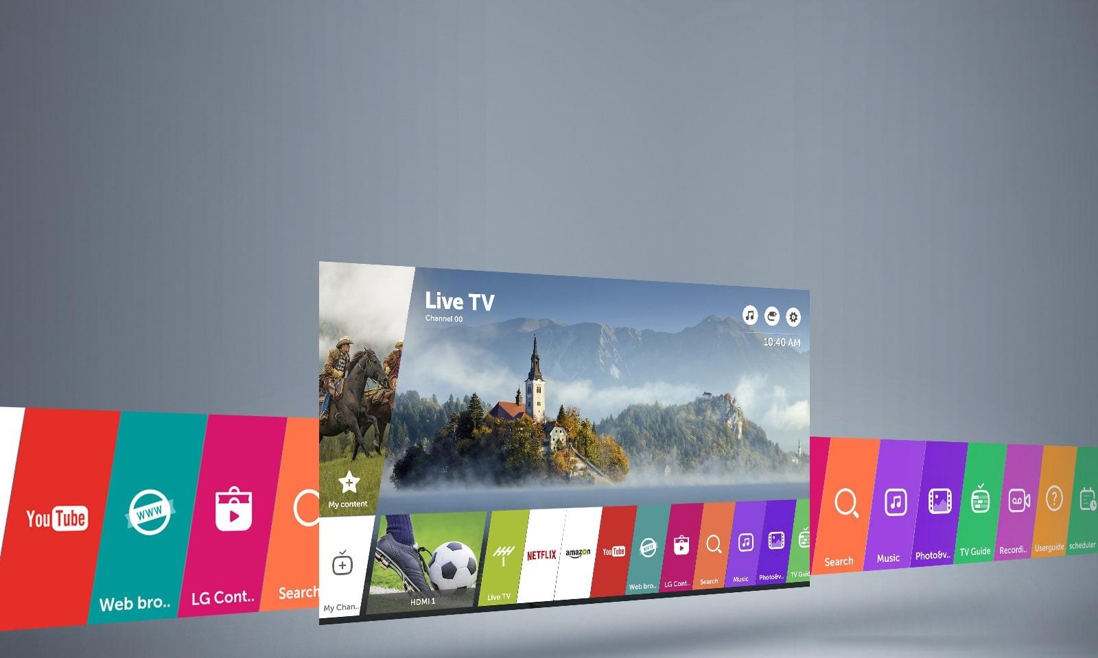 webOS 3.5 Smart TV1