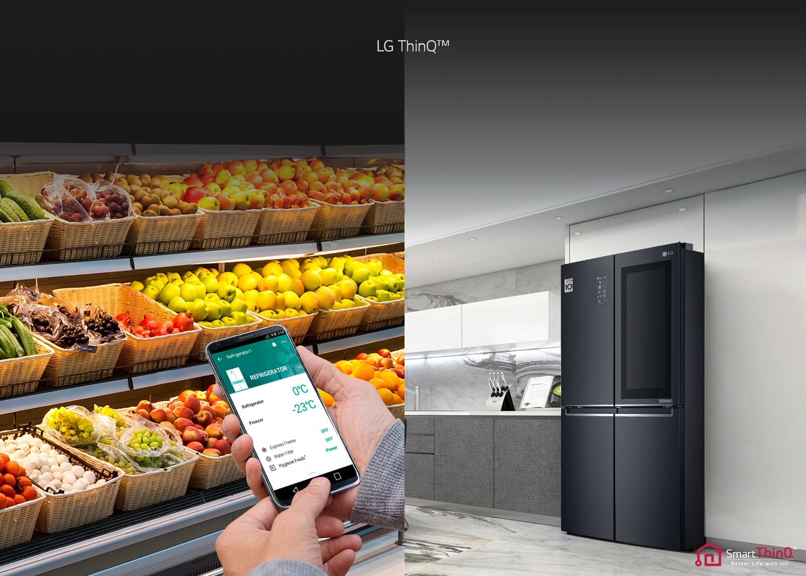 LG DoorCooling SmartThinQ
