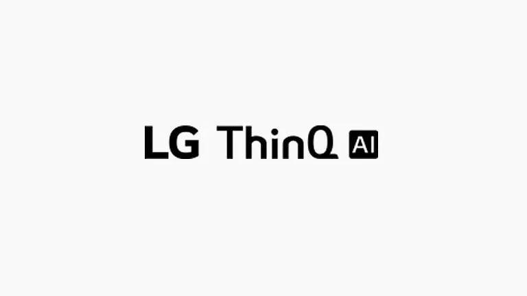 На этой карточке описаны команды голосового управления. Были размещены логотип LG ThinQ AI.