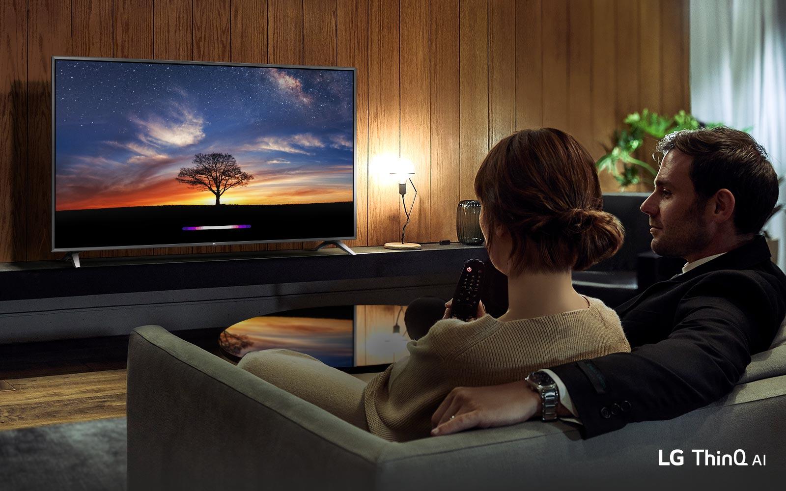 Жизнь полна чудес с телевизором LG AI1