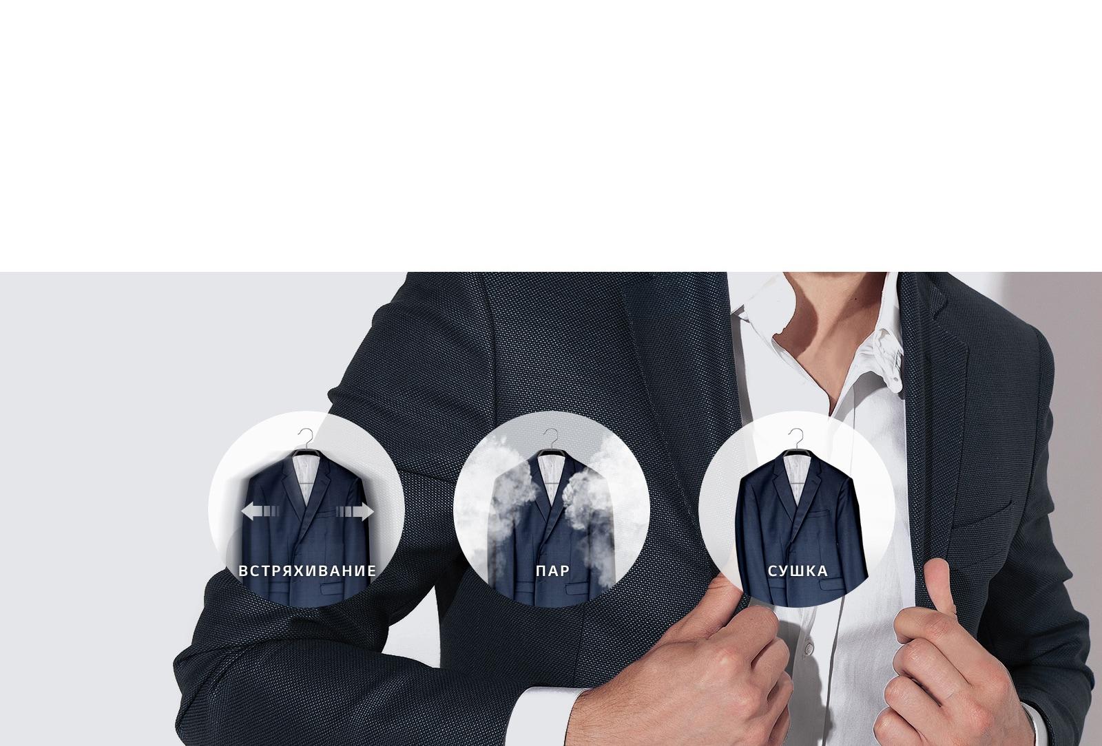 Тщательный уход за одеждой с помощью пара