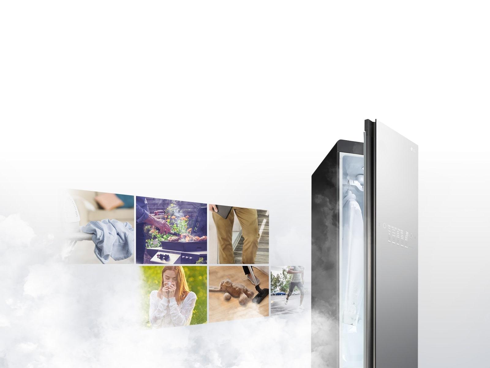 LG Baron_S5BB Простой и удобный уход за одеждой