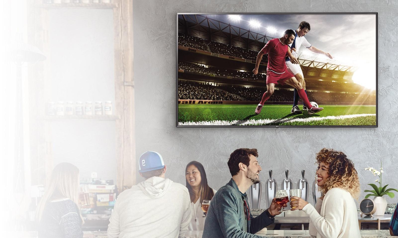 Коммерческий телевизор ULTRA HD с функцией «Смарт»
