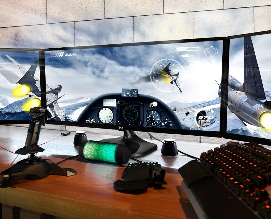 Полное погружение в игровой мир  с UltraWide монитором LG формата 21:9
