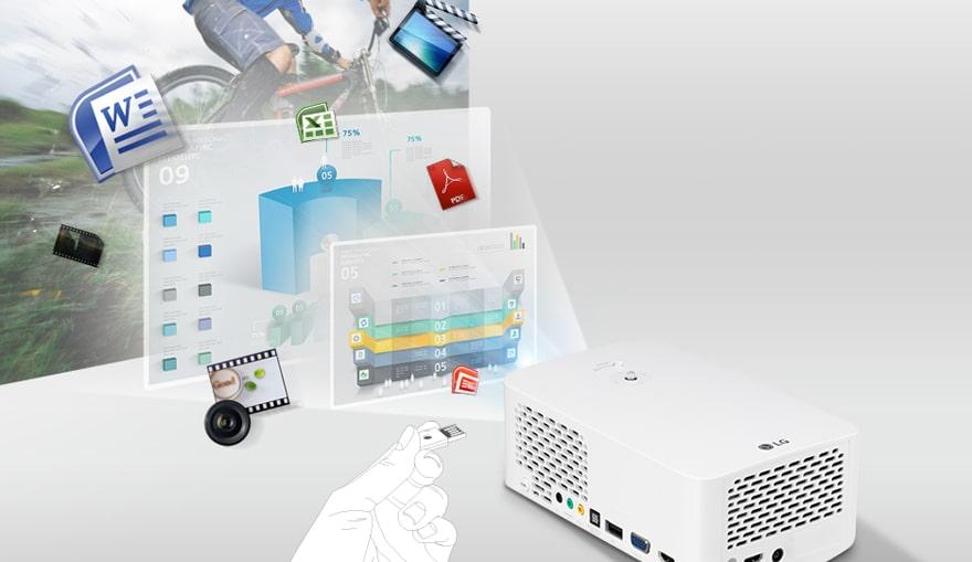 Воспроизведение файлов с USB