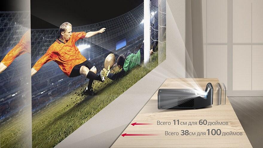 Ультракороткофокусный LED-проектор