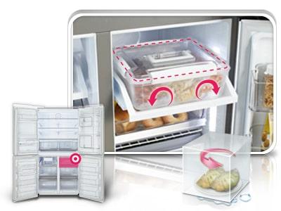 Lg gr m24fwcvm for Fresh home appliances