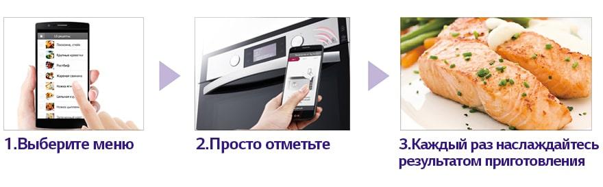 Готовьте с умом с NFC и вашим смартфоном