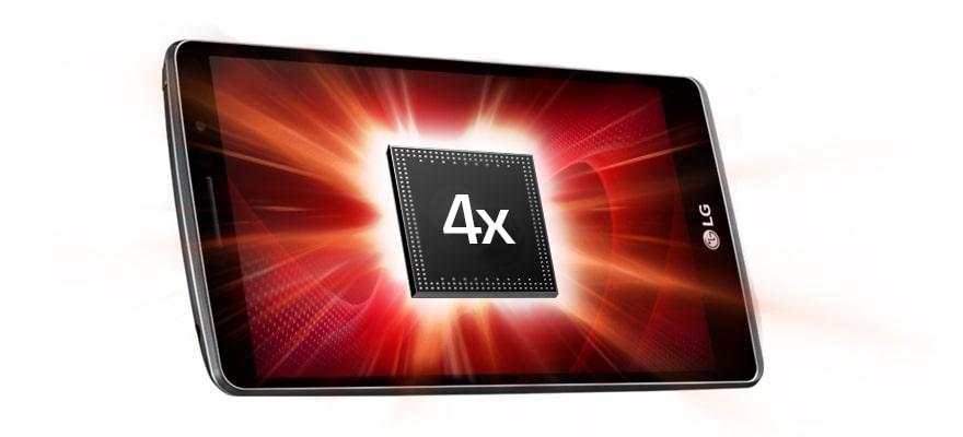 Мощный 4-ядерный процессор 1,5 ГГц