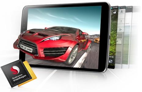 4-ядерный процессор Snapdragon™ 600 1.7 ГГц от Qualcomm®