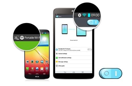 Приложение QPair В интернет через смартфон!